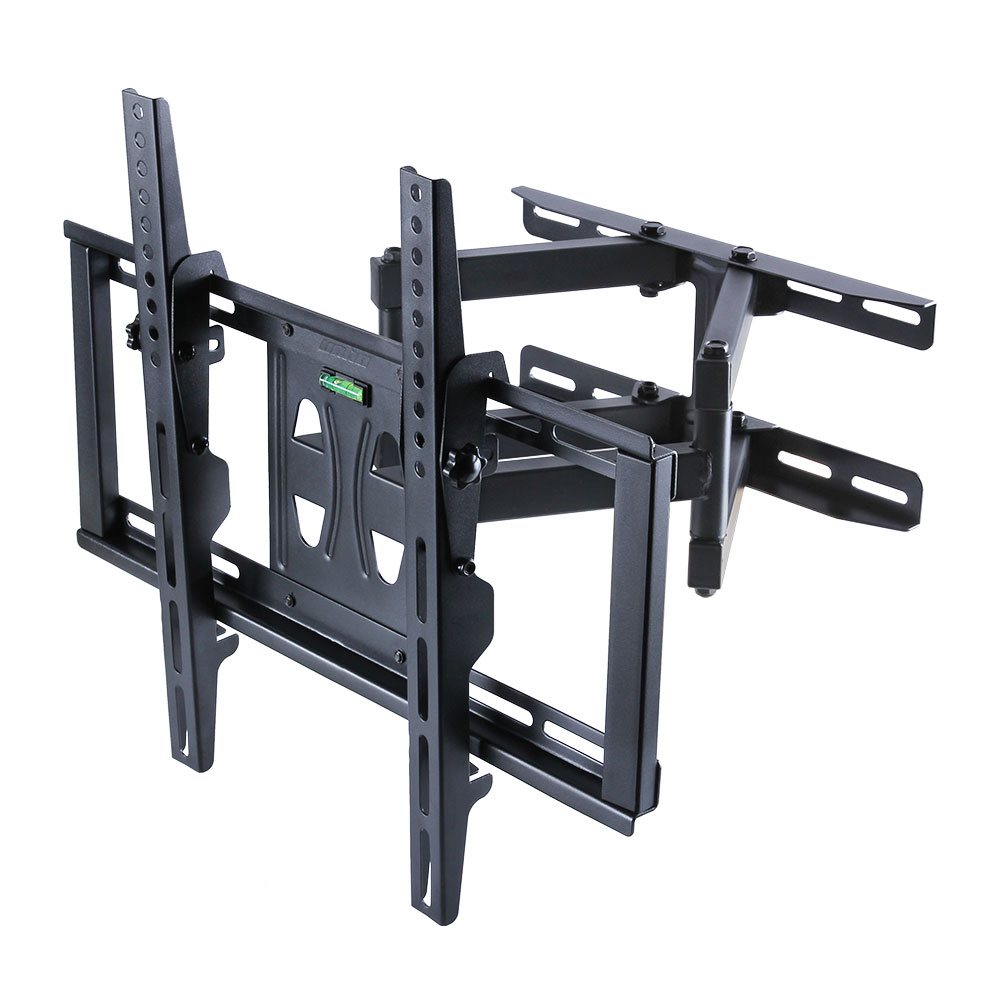 double arm tilt swivel tv wall mount bracket plasma 55 50 49 42 40 32 26 inch ebay. Black Bedroom Furniture Sets. Home Design Ideas