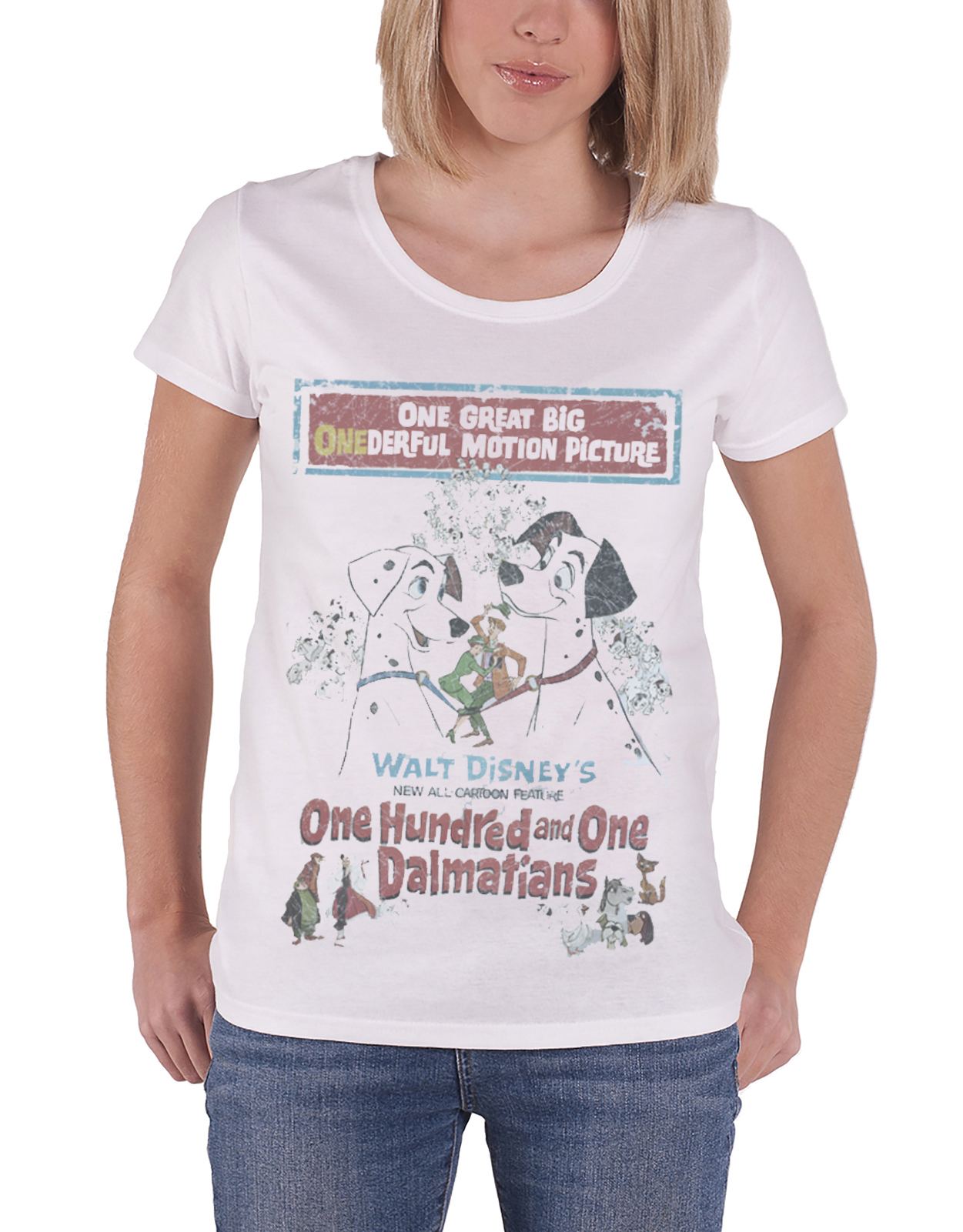 Disney-T-Shirt-Mickey-Minnie-Mouse-Princess-new-Official-Womens-Skinny-Fit