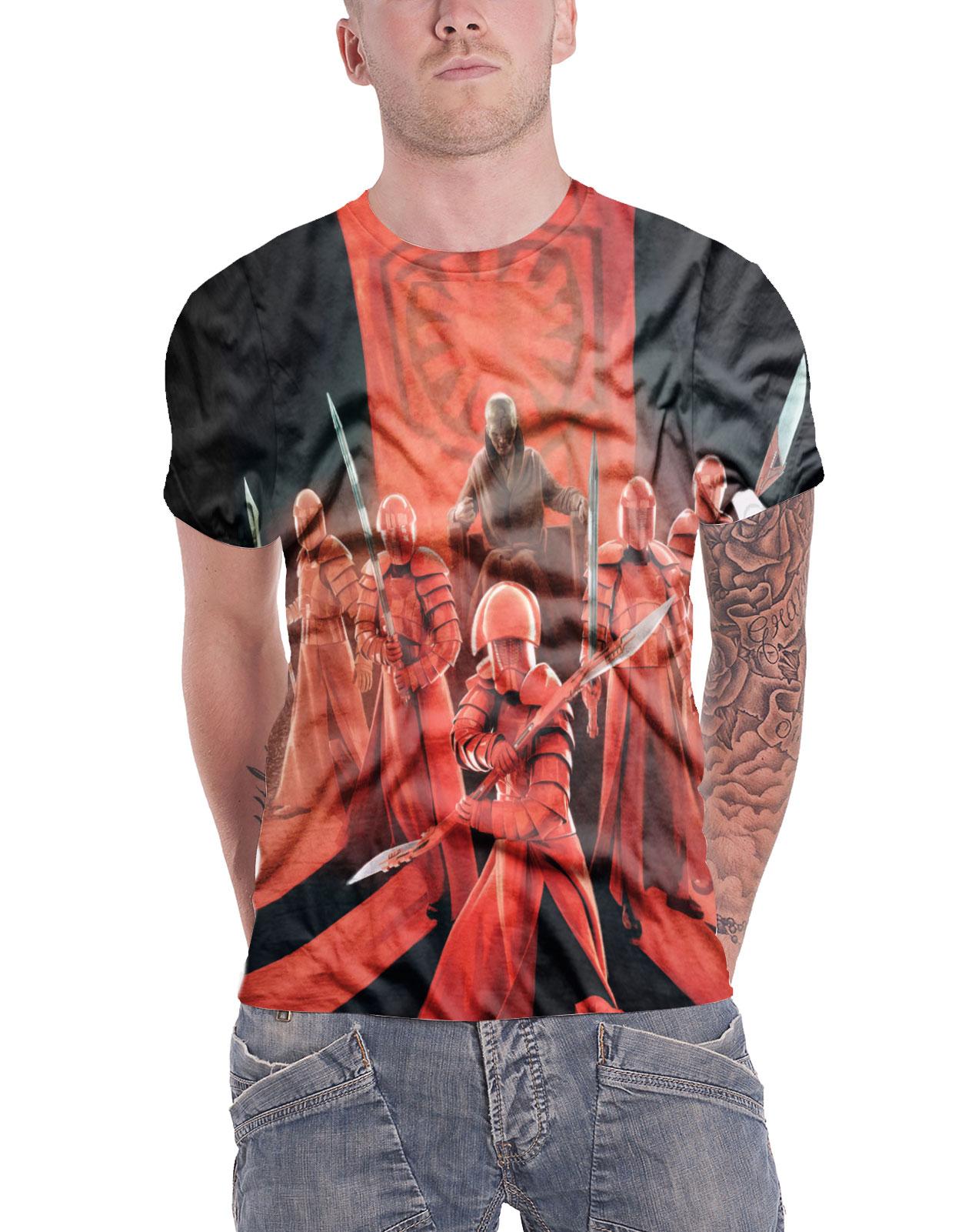 Snoke/'s Praetorian Guards Allover T-Shirt S-XXL Officially Licensed Star Wars