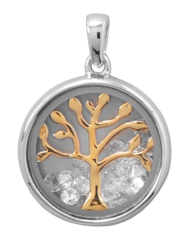 Tree of Life Pendant Copper Silver Tone Gold Tone Vintage Pendant