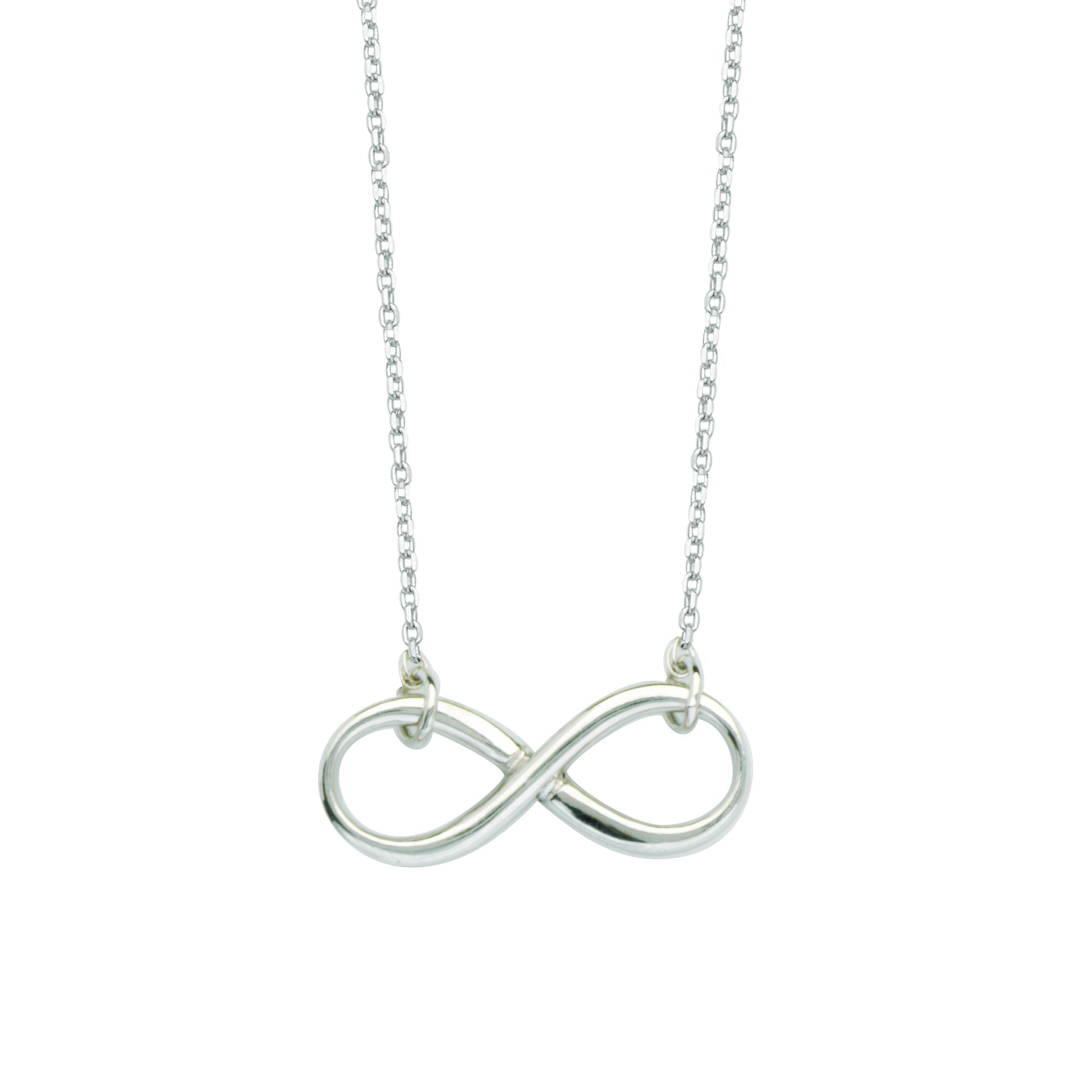Stering Silver East2West Infinity Earrings