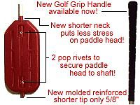 "Paddle Stick W//BB/'s 48/"" Original Handle Sort Pigs Cattle Sheep Humane Livestock"