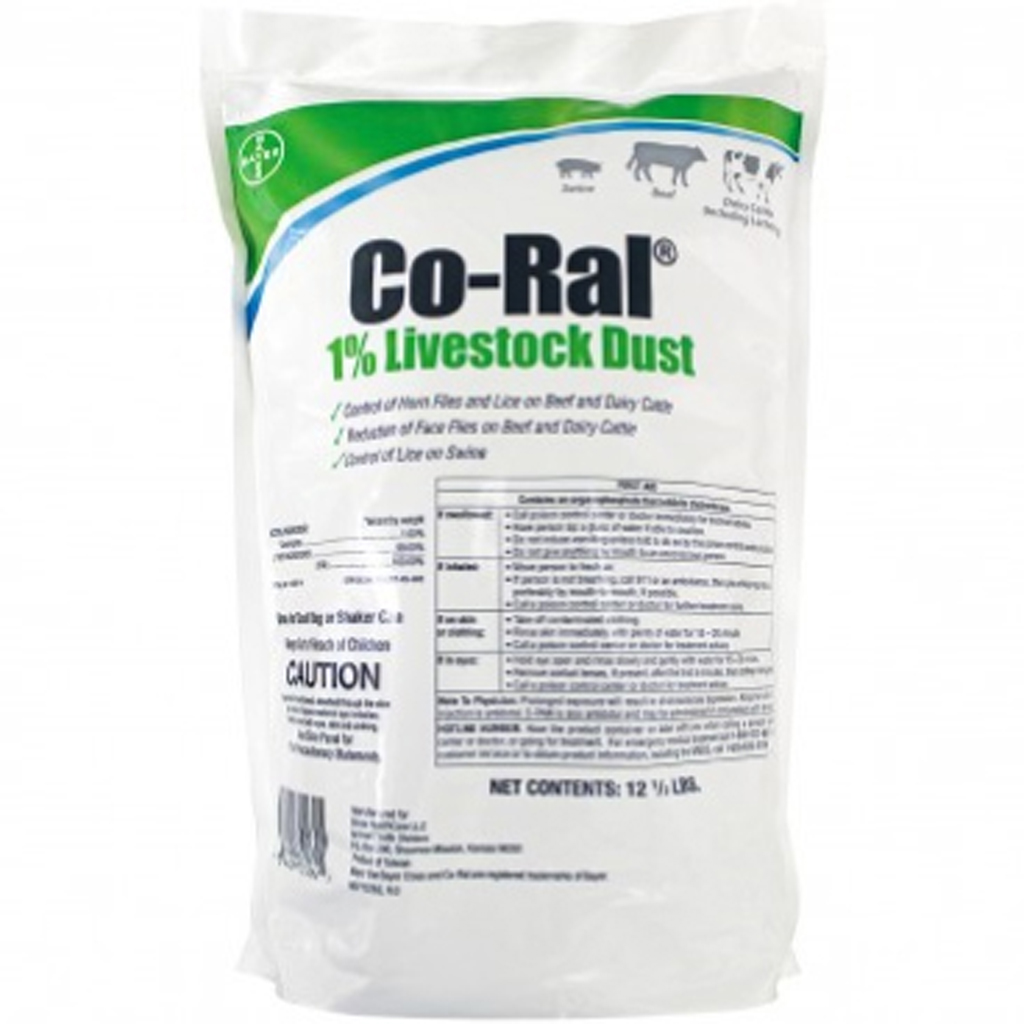 f2632f30f8 Details about Co Ral Dust Bag Refill 12.5 Pounds Livestock Pest Control