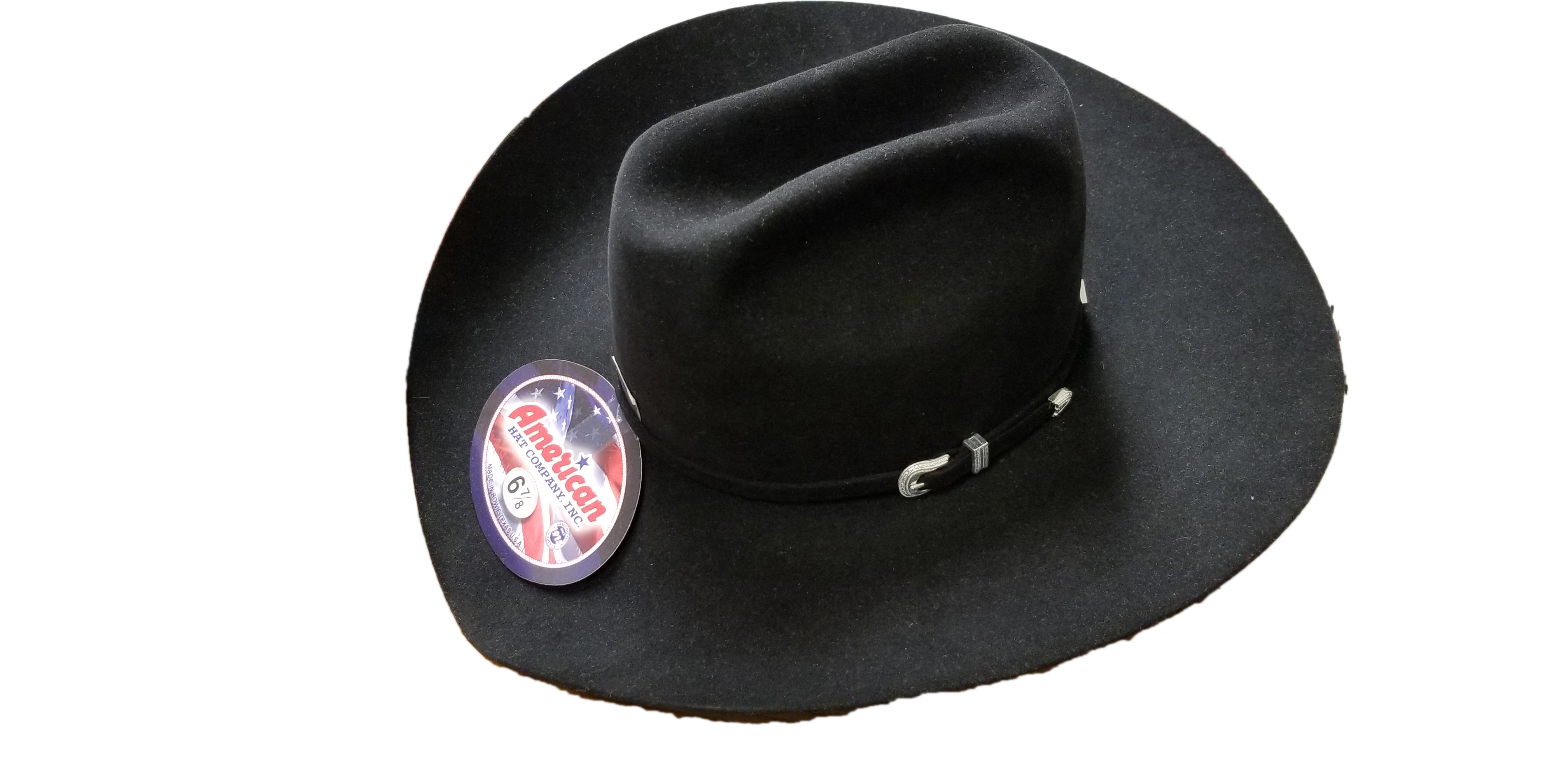 139c463c ... where can i buy american hat company mens 7x black 4 1 4 brim open crown