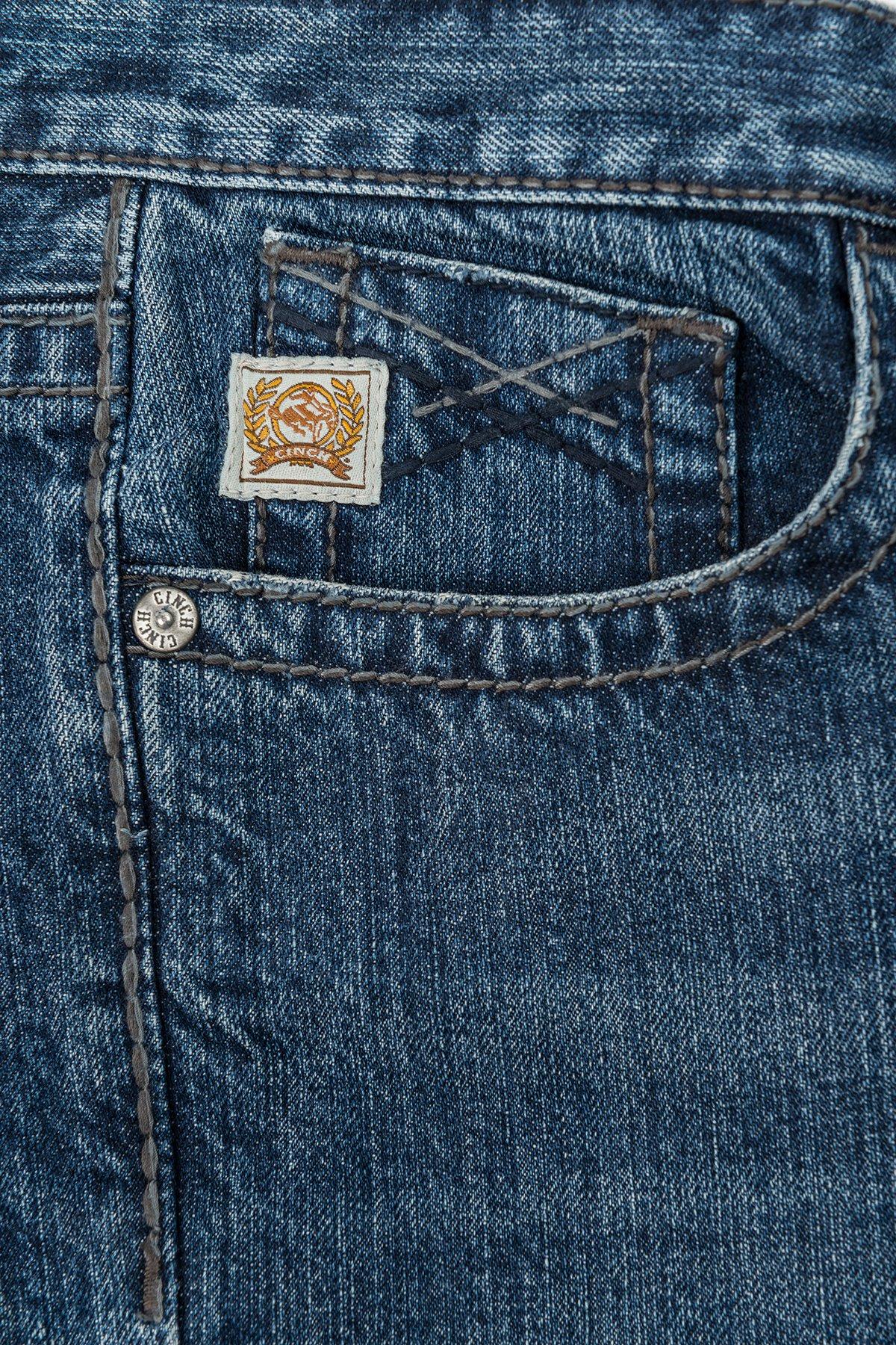 5ae6a468 CINCH Men's Ian Jeans November Dark Stonewash Mid Rise, Slim, Boot Cut