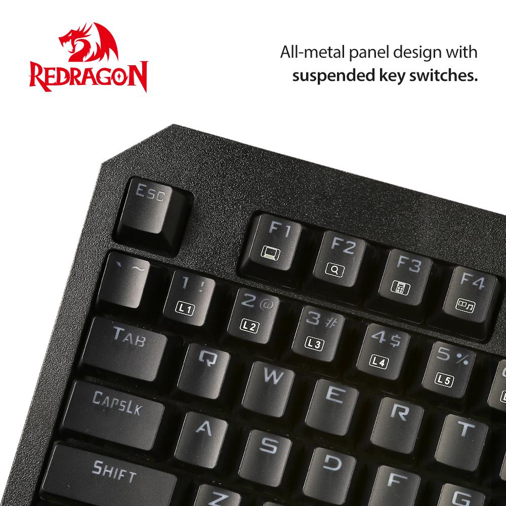 redragon k558 rgb gaming usb tastatur gamer keyboard. Black Bedroom Furniture Sets. Home Design Ideas