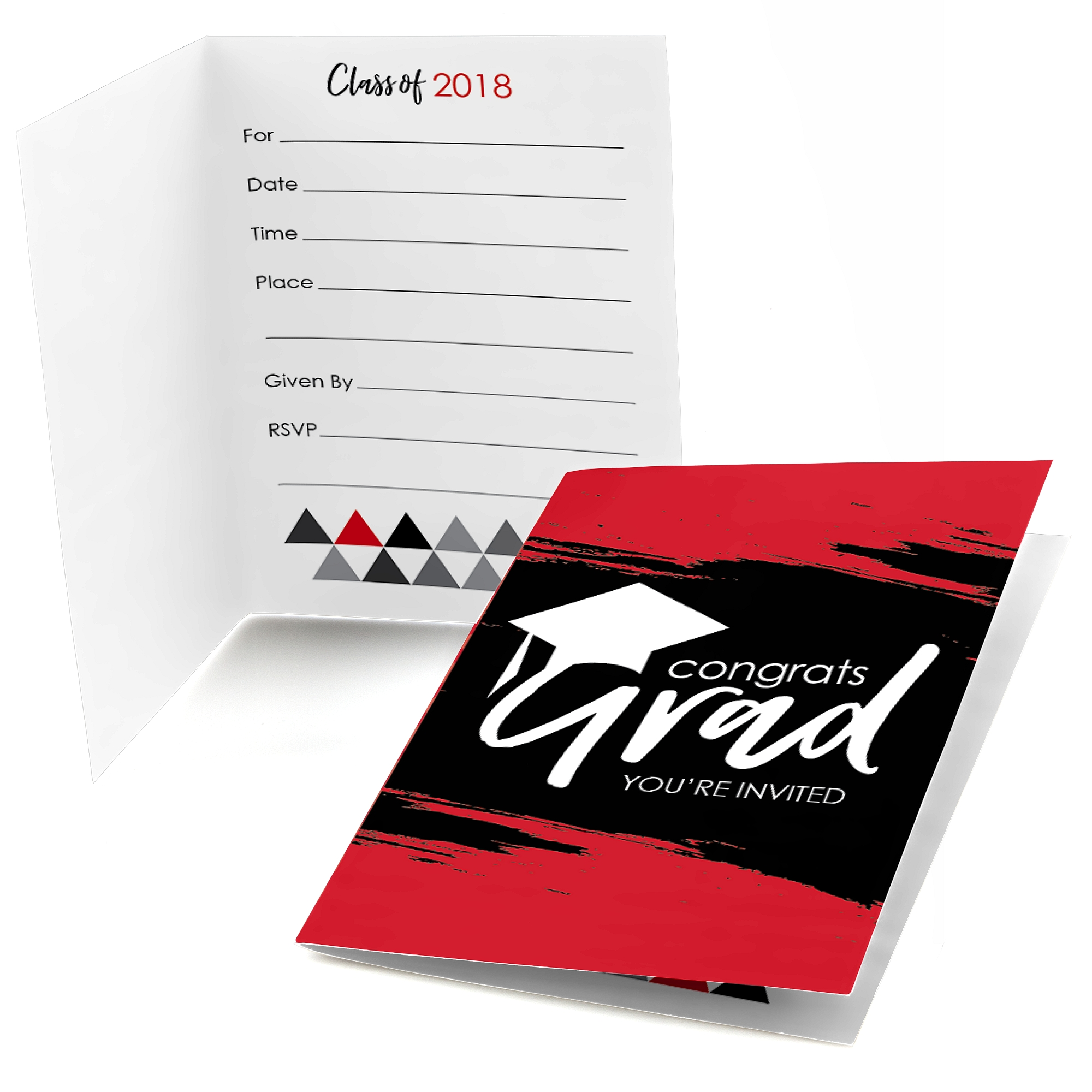 Red Grad - Best is Yet to Come - Fill In 2018 Graduation Party ...