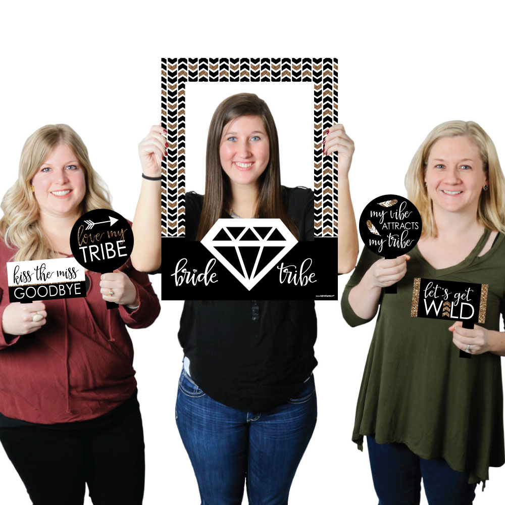 Bride Tribe-Bridal Shower or Bachelorette Party Photo Booth Picture ...