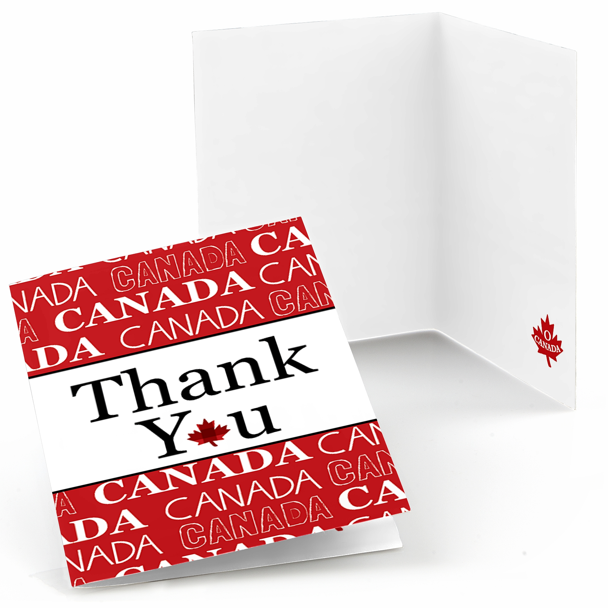 Canada Day - Canadian Party Thank You Cards (8 count) 843394125283 ...