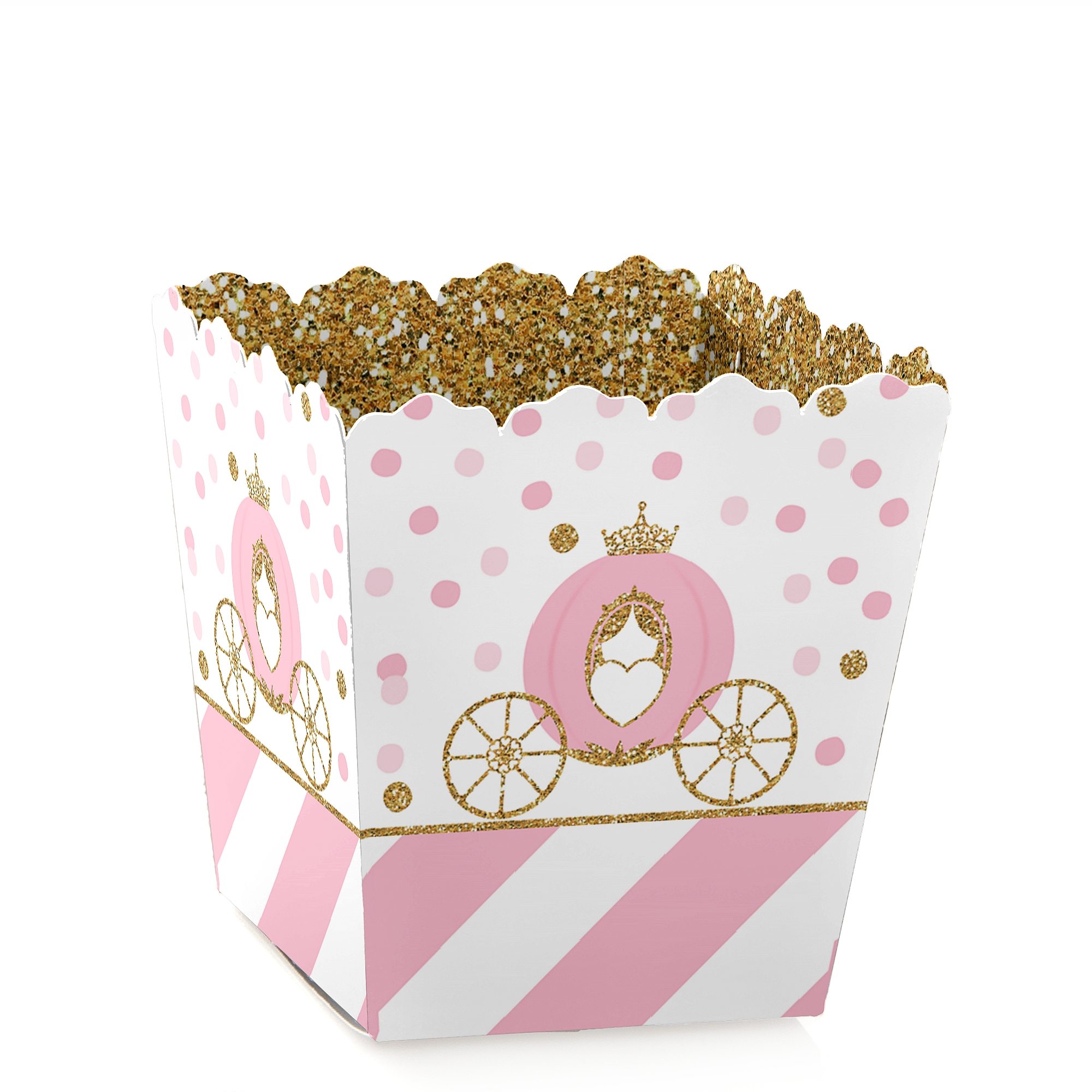 Little Princess Crown - Baby or Birthday Mini Treat Candy Boxes ...