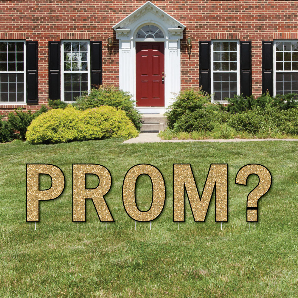 Promposal - Yard Sign Outdoor Lawn Decorations - Prom Proposal Yard ...