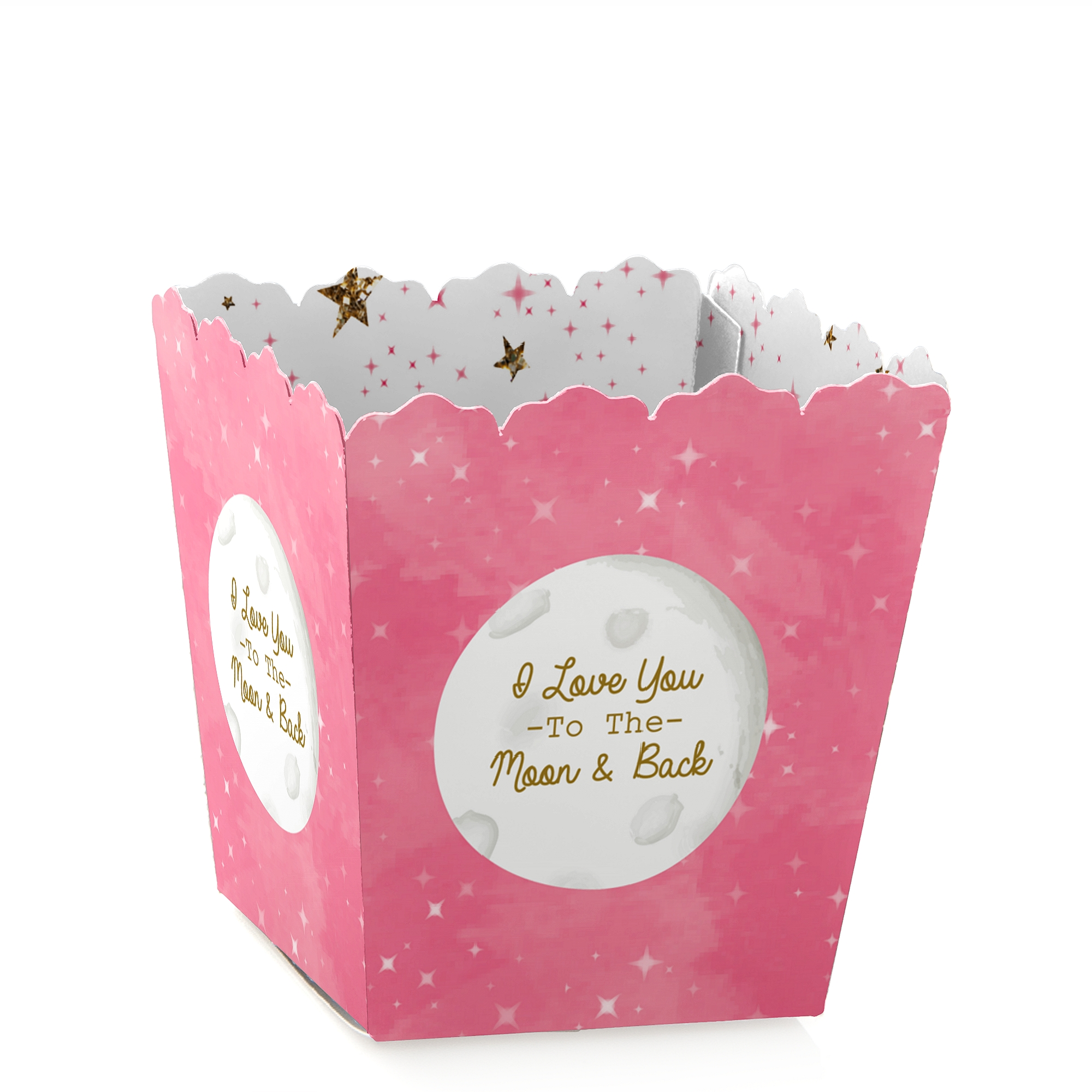 Pink Twinkle Little Star - Baby or Birthday Mini Treat Candy Boxes ...
