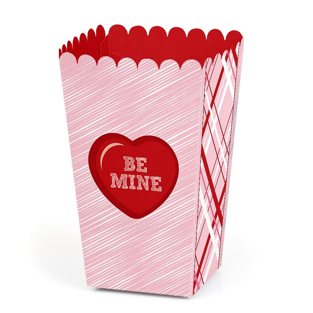 Valentine\'s Day Hearts - Valentine\'s Day Party Favor Popcorn Treat ...