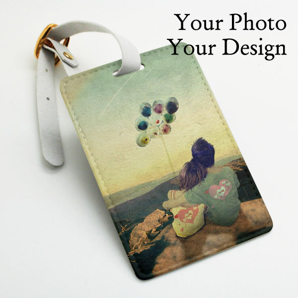 Personalized Custom Made Luggage Tag Wedding Favor Gift Tag Your