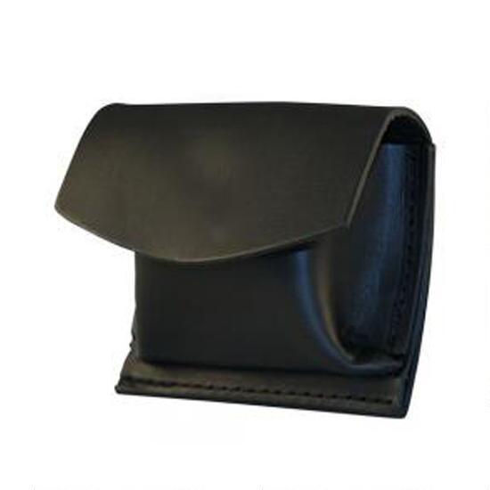 CPR Shield Pouch Boston Leather 5640-3-B Basketweave Black Rubber Glove