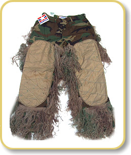 ce721603fcb78 Ghillie Suits Sniper Bdu Ghillie Pants - Small - Short - Woodland   eBay