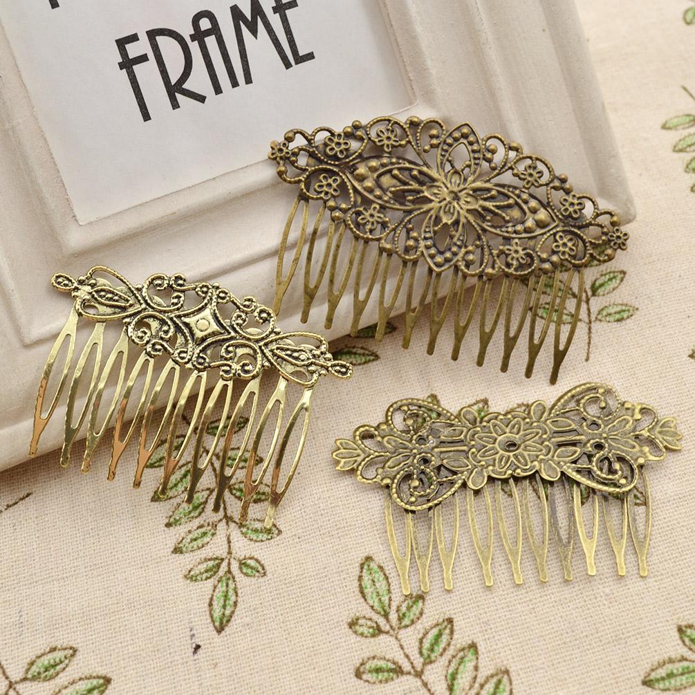 braut geschenk hochzeit haarspange steckkamm haarkamm vintage haarschmuck blumen ebay. Black Bedroom Furniture Sets. Home Design Ideas