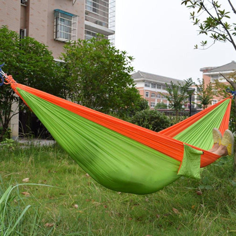tragbare parachute nylongewebe h ngematte f r zwei. Black Bedroom Furniture Sets. Home Design Ideas
