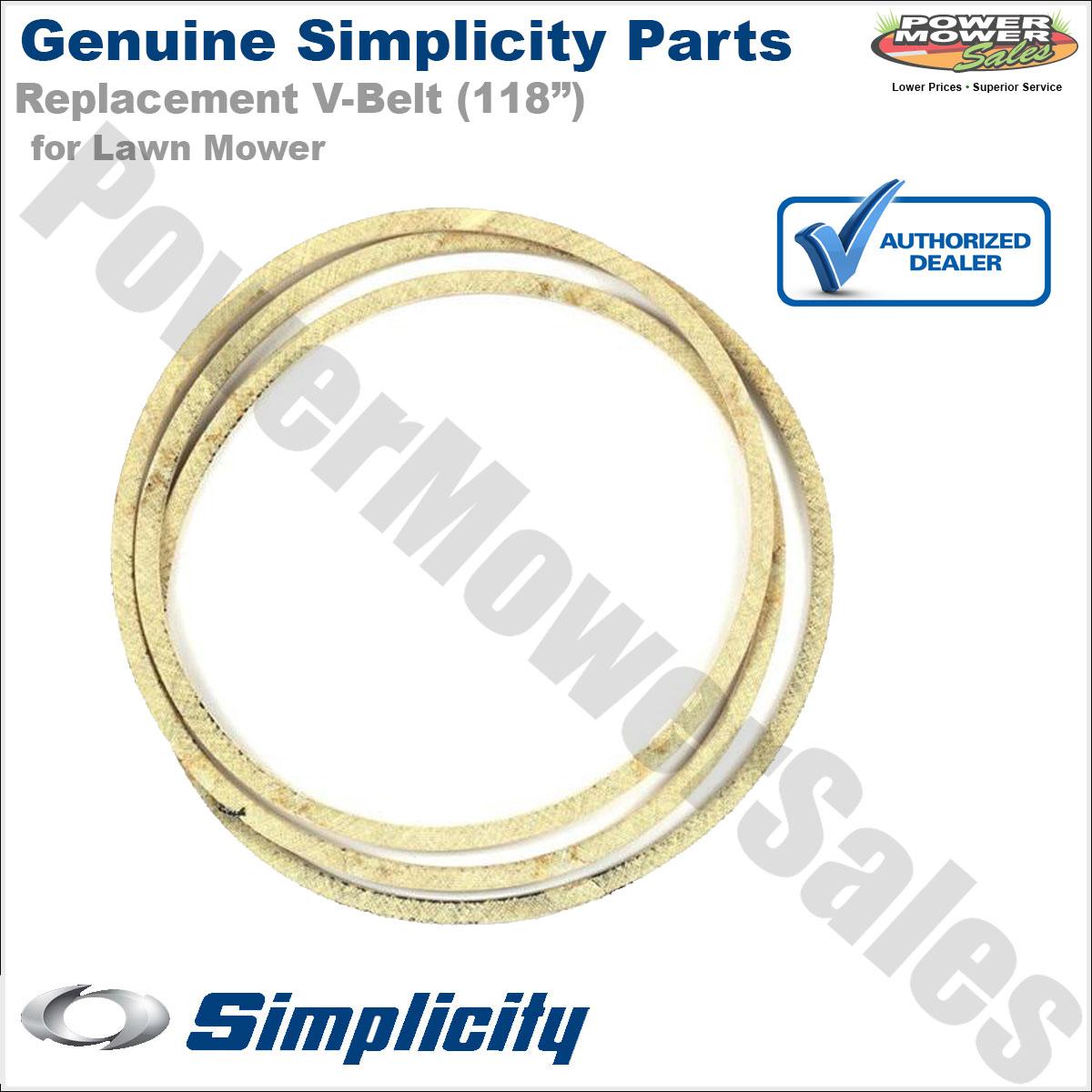 NEW OEM Genuine Simplicity Manufacturing V-Belt 1732956