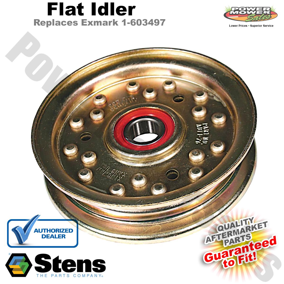 Fits Exmark 1-603497 280-882 Flat Idler