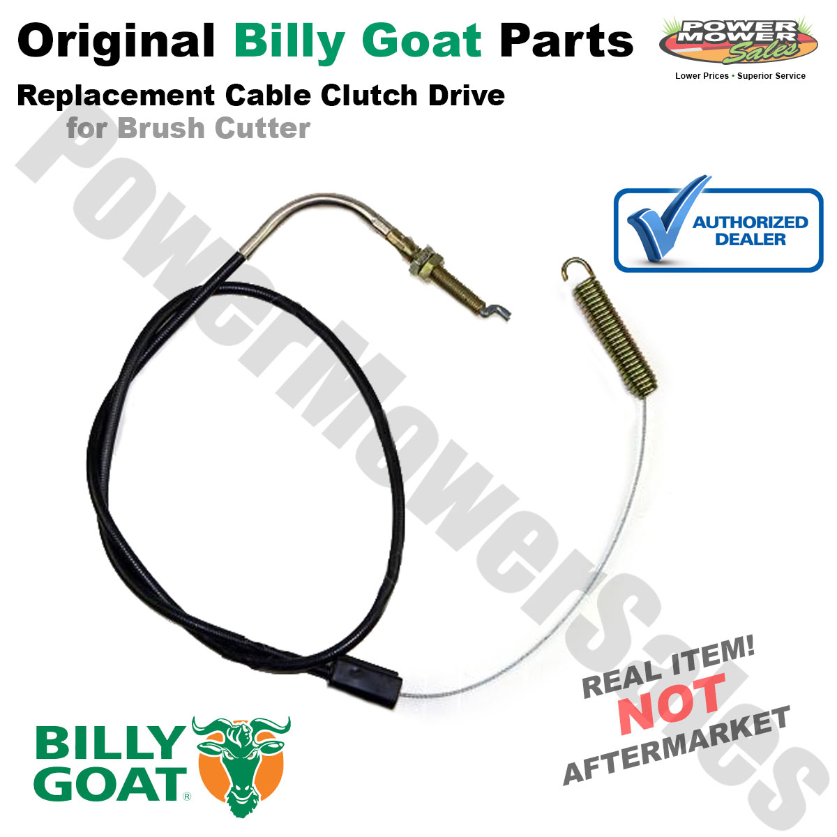 500327 Genuine BILLY GOAT CLUTCH DRIVE CABLE control cable