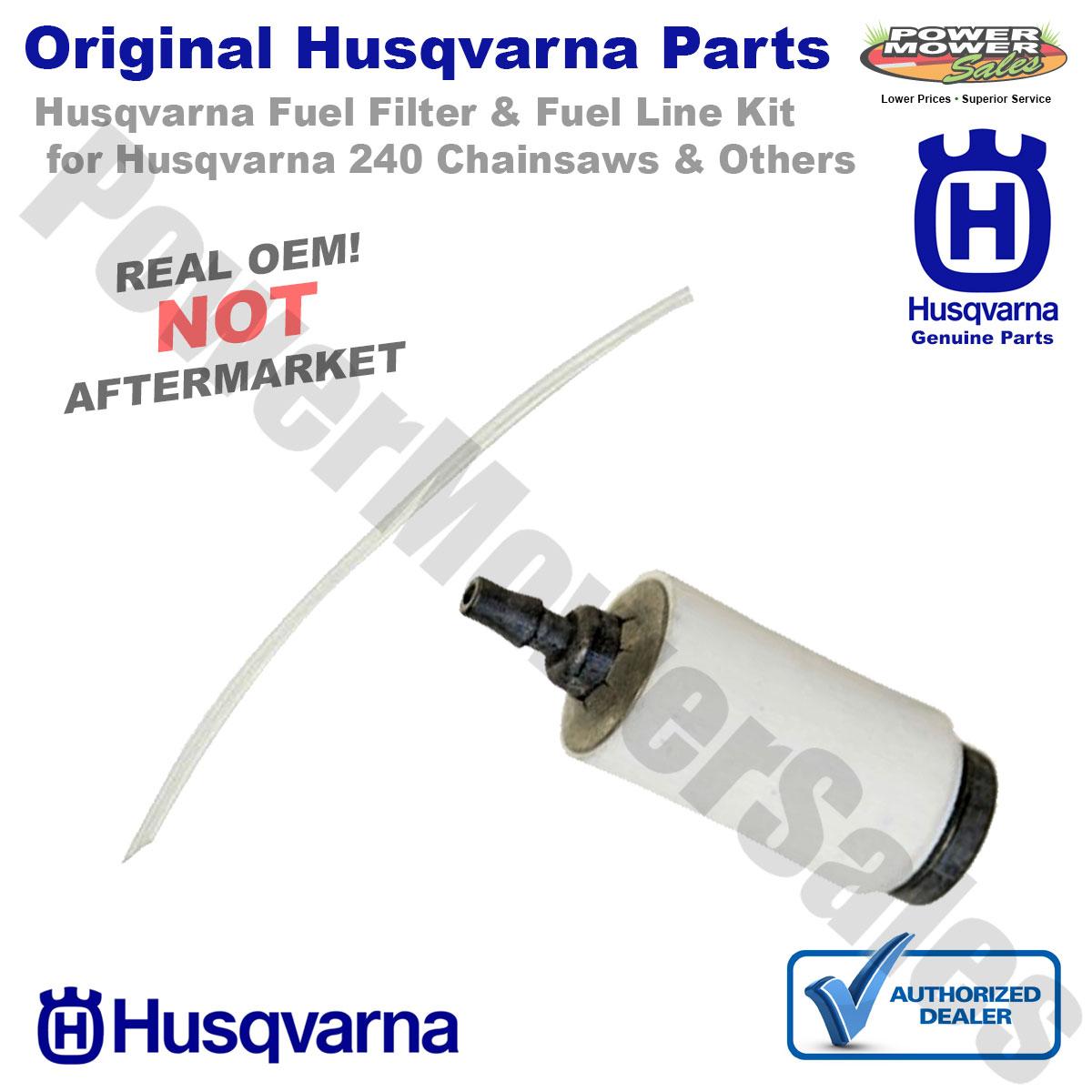 Genuine OEM 530069216 530069247 530095646 Fuel Line Kit with Filter