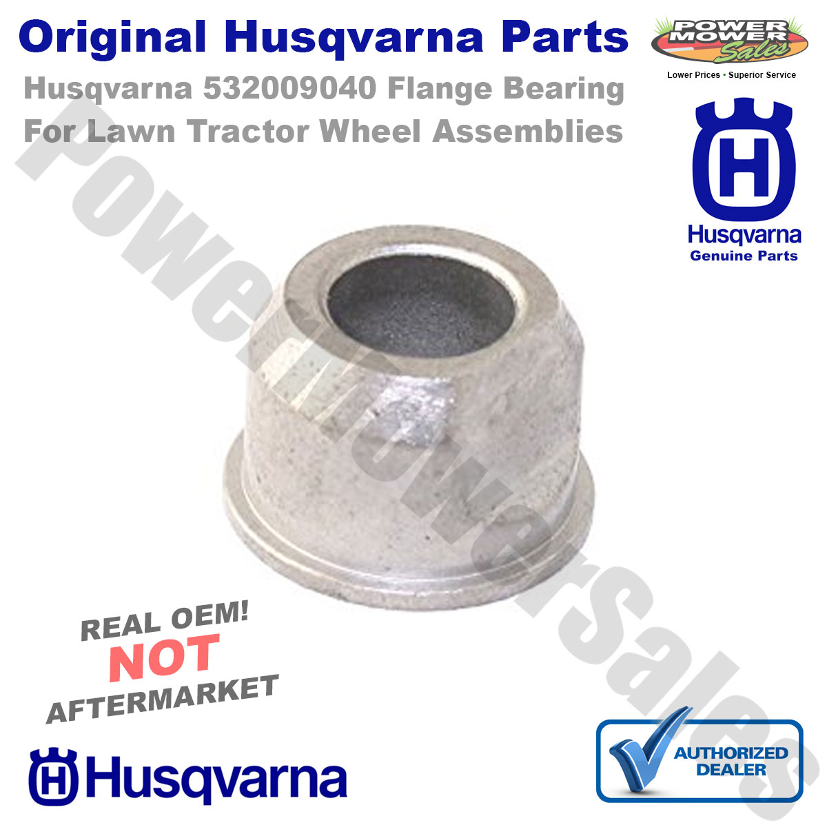 Replaces 9040H Wheel Bearing Flange for Riding Lawn Mowers NEW GENUINE 8