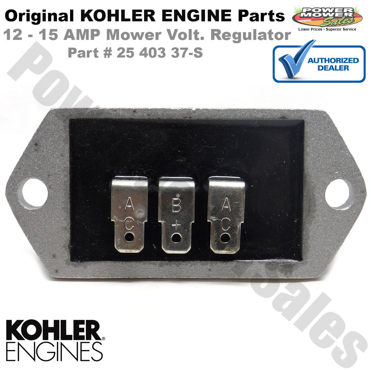 New Regulator Rectifier Assembly For John Deere Kohler Commercial Walk Behind Mowers M131287 1240301 12-403-01