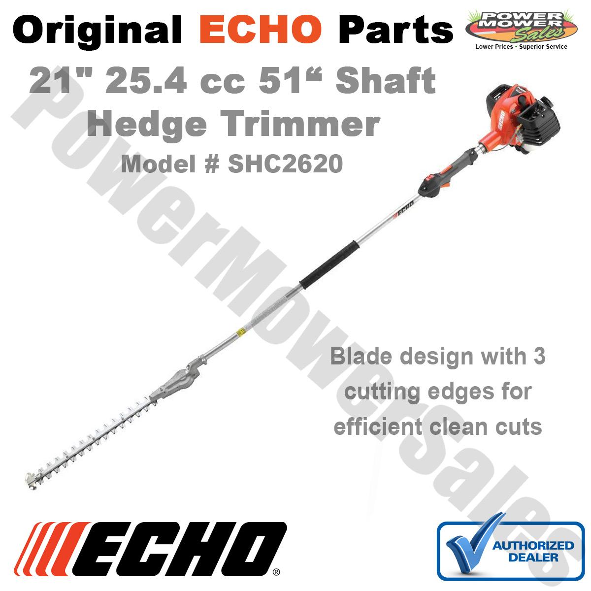 Shc2620 Echo 25 4 Cc Gas 2 Stroke Cycle 21 Double Sided Hedge Trimmer 51 Shaft 743184014639 Ebay