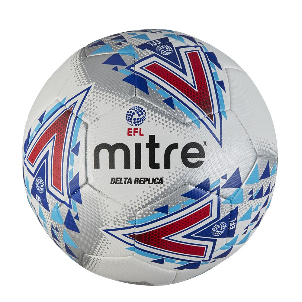 reputable site 6084e b341f Details about Mitre Delta EFL English Football League Replica Football  Soccer Ball White