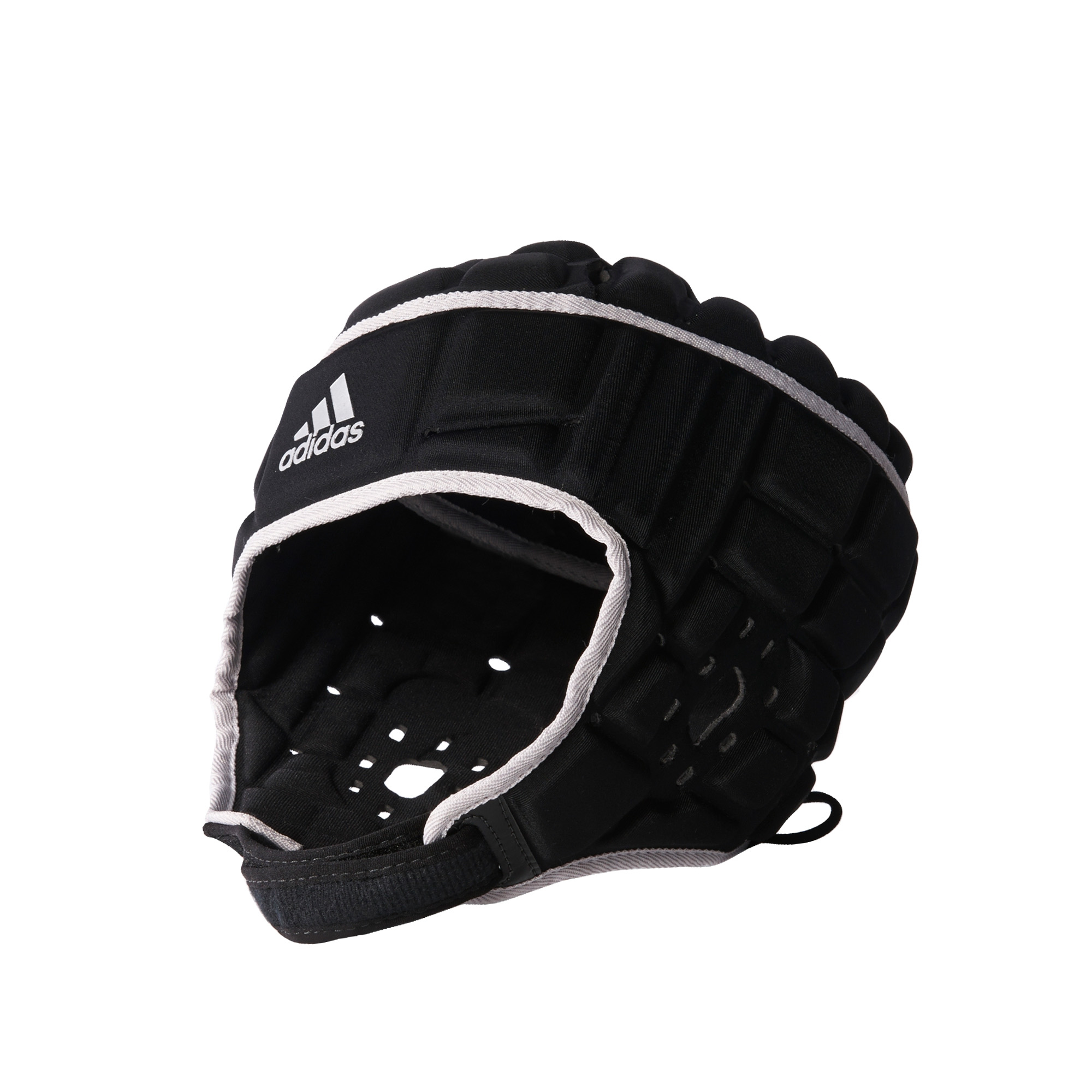 Details about adidas Rugby Headguard Scrum Cap Head Protection Black 286c133e526