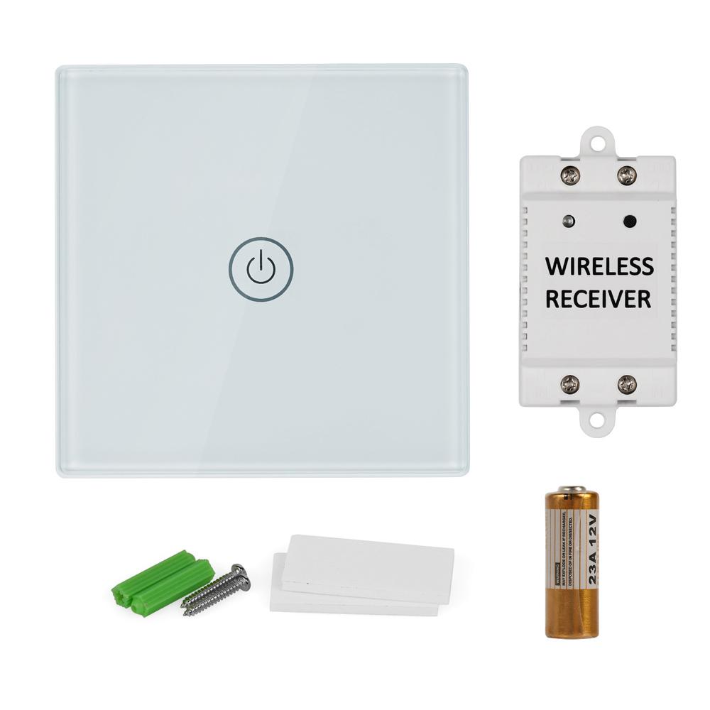 Lagute 1 way2 way wireless panel remote control wall light switch lagute 1 way 2 way wireless panel remote aloadofball Images
