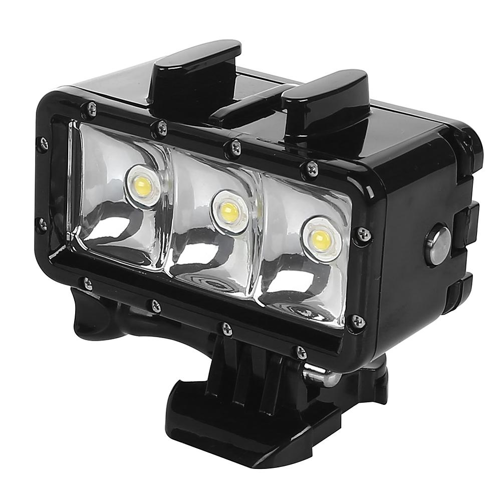 underwater waterproof led flash diving light for gopro hero 4 3 3 camera ebay. Black Bedroom Furniture Sets. Home Design Ideas