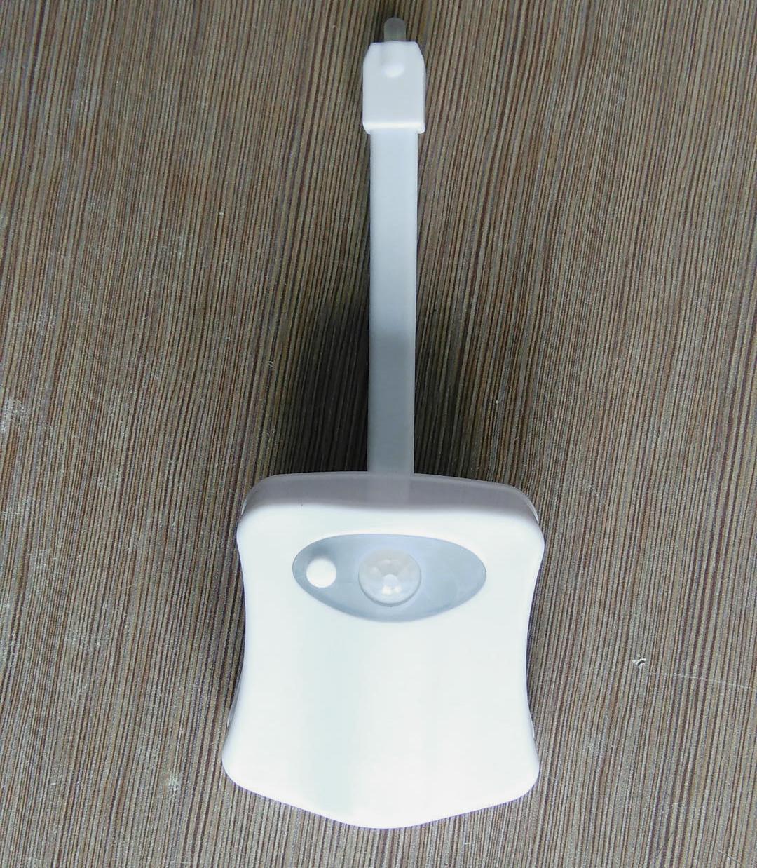 vente chaude led toilettes salle de bains lumi re nuit activ par mouvement pir ebay. Black Bedroom Furniture Sets. Home Design Ideas