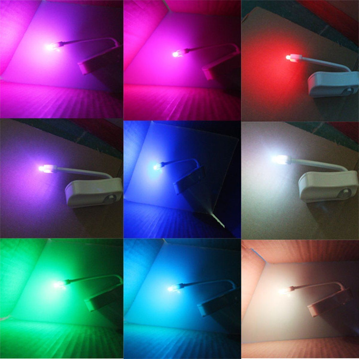 Led night light bathroom -  Picture 3 Of 5