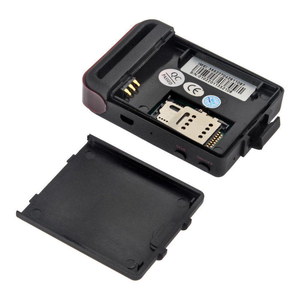 tk102 gps gsm gprs tracker auto veicolo mini device di. Black Bedroom Furniture Sets. Home Design Ideas