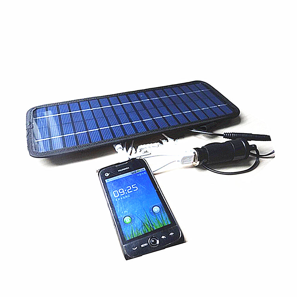 solar panel ladeger t batterie f r tablet ios android smart handy auto motorrad ebay. Black Bedroom Furniture Sets. Home Design Ideas