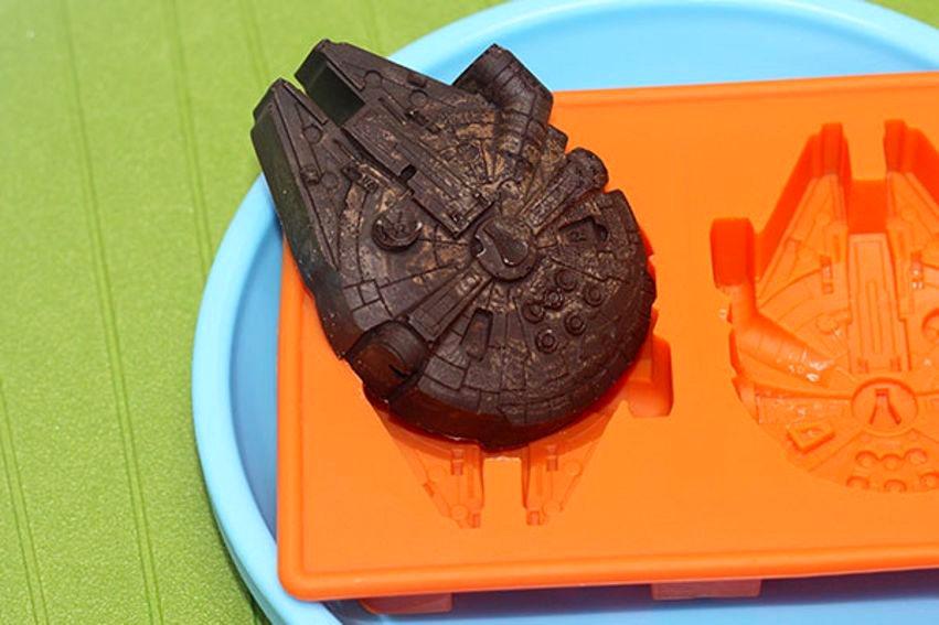 8pcs set star wars ice tray silikonform eisw rfelform schokoladen fondant kuchen ebay. Black Bedroom Furniture Sets. Home Design Ideas