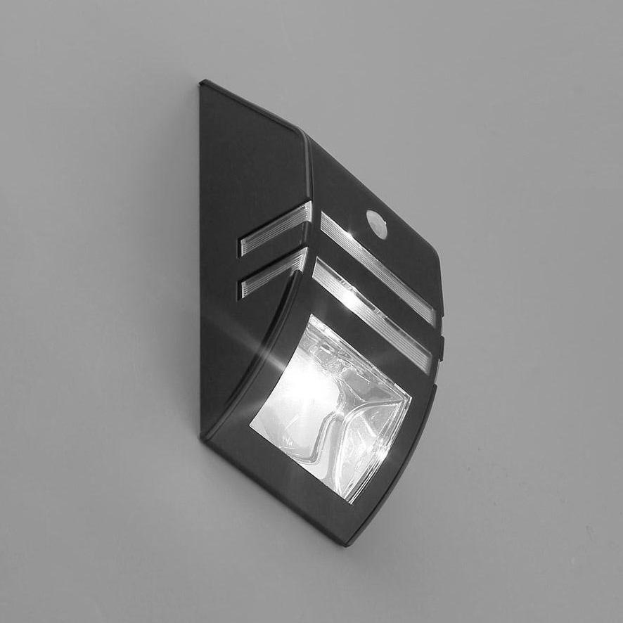 Motion Sensor LED Wandleuchte Solarleuchte Gartenleuchten Außenlicht ...