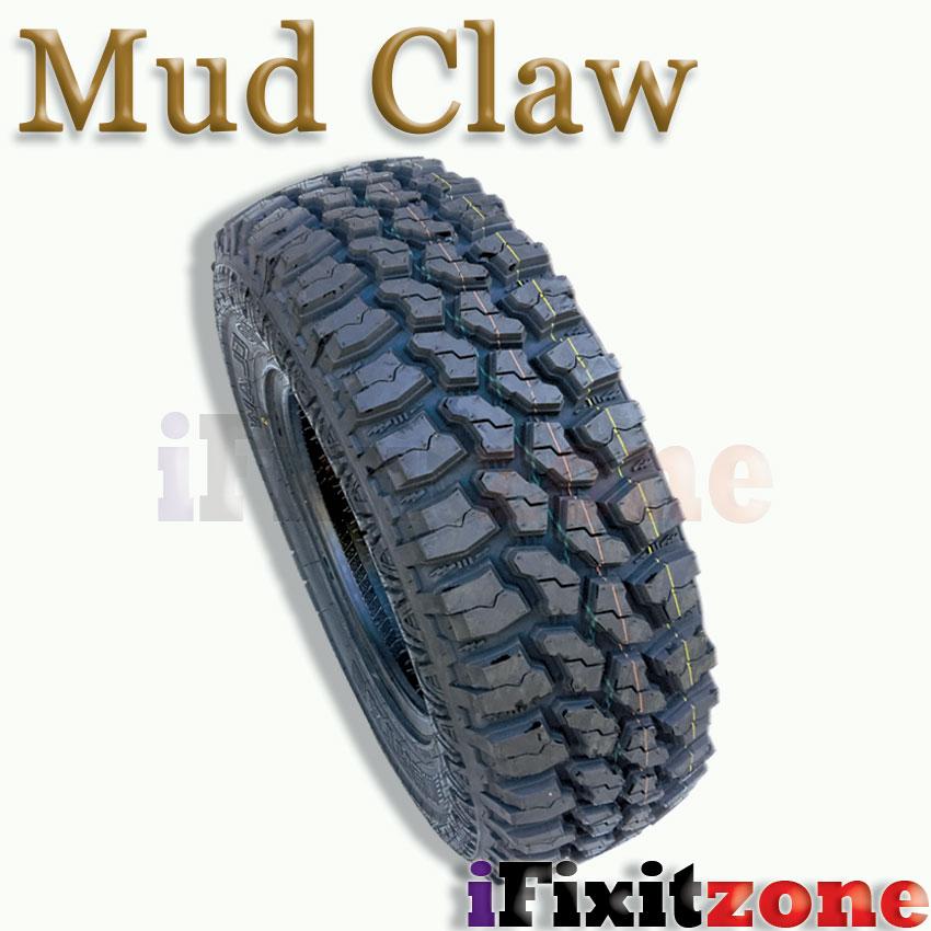 4 Mud Claw Extreme MT 31x10.50R15LT 109Q C All Terrain Performance Mud Tires | eBay