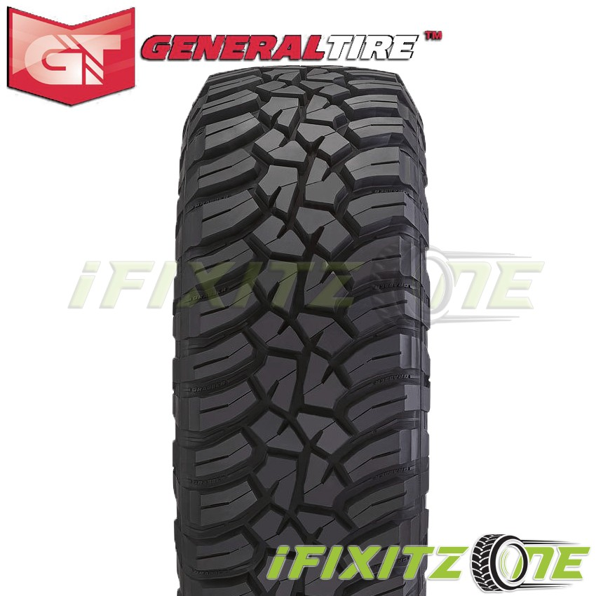 Owner 2 General Grabber X3 LT285/75R16 126/123Q 10-Ply/E Off-Road JEEP Truck Mud Tires
