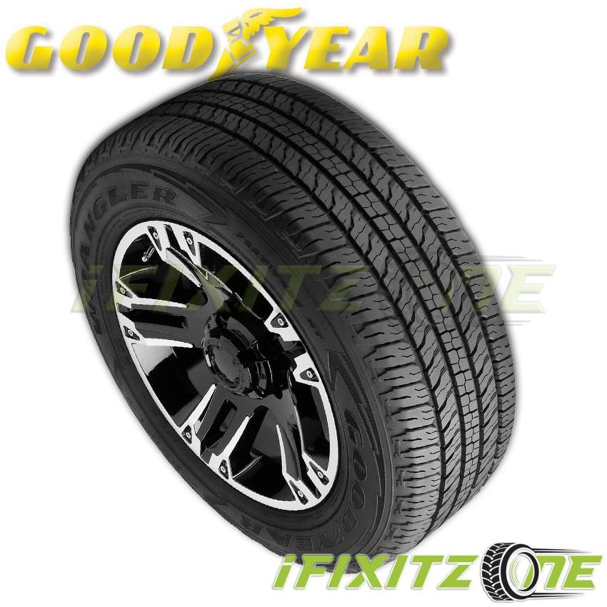1 Goodyear Wrangler Fortitude HT All-Season 265/70R16 Truck SUV 65K Mile Tires
