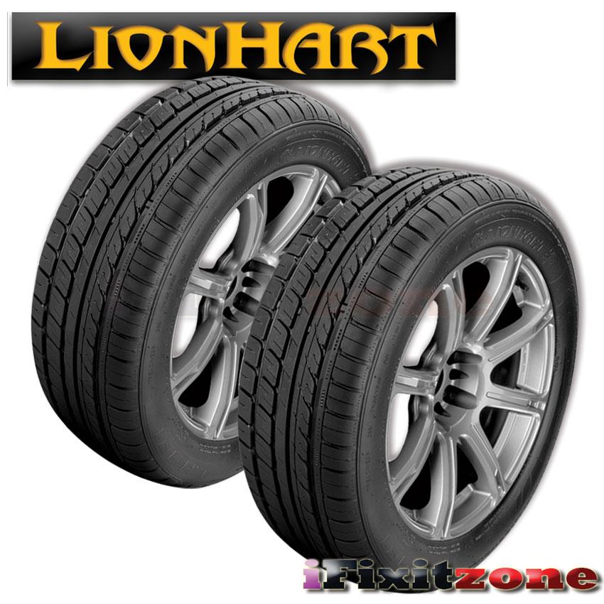 2x lionhart lh 101 205 50zr16 91w xl all season ultra high performance tire new ebay. Black Bedroom Furniture Sets. Home Design Ideas