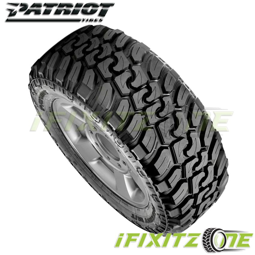 LT265//75R16 123Q Patriot Tires MT All-Terrain Radial Tire