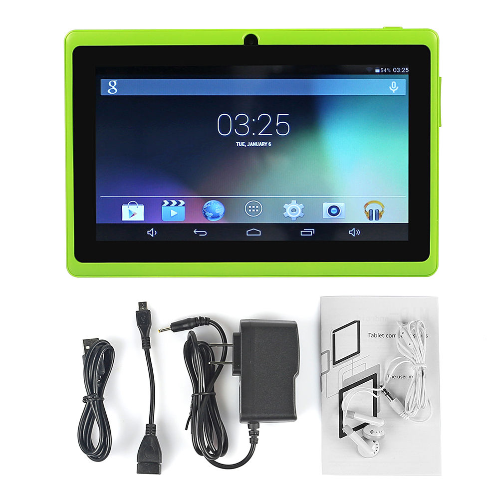 upgrade 7 google android 4 4 1gb 16gb tablet pc pad dual. Black Bedroom Furniture Sets. Home Design Ideas