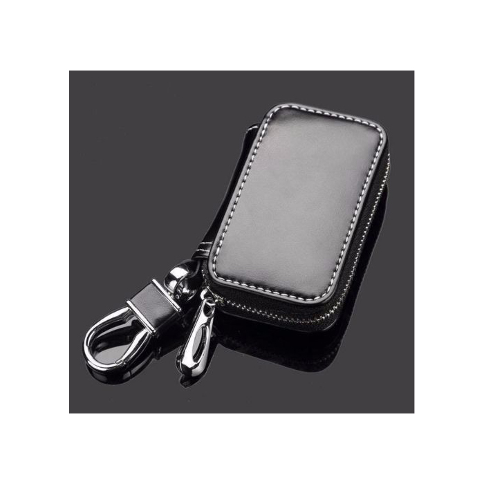 New genuine leather cow car key holder key ring chain case for Mercedes benz key holder