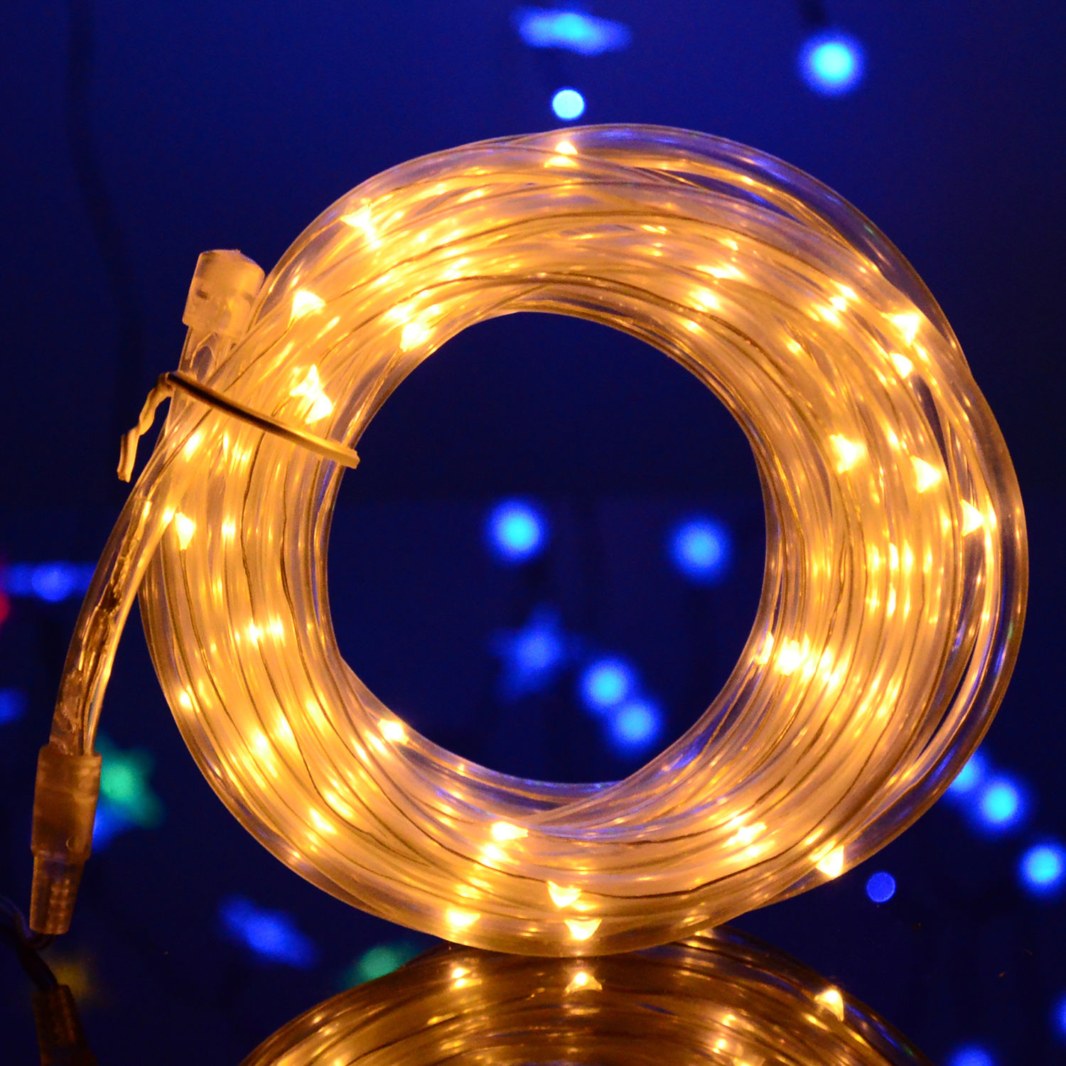 Various Shape LED String Solar Light Outdoor Garden Xmas
