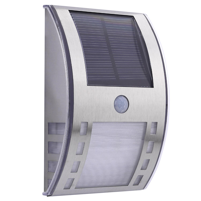Light Sensor Garage Lights: LED Motion Sensor PIR Light Stainless Path Wall Lamp