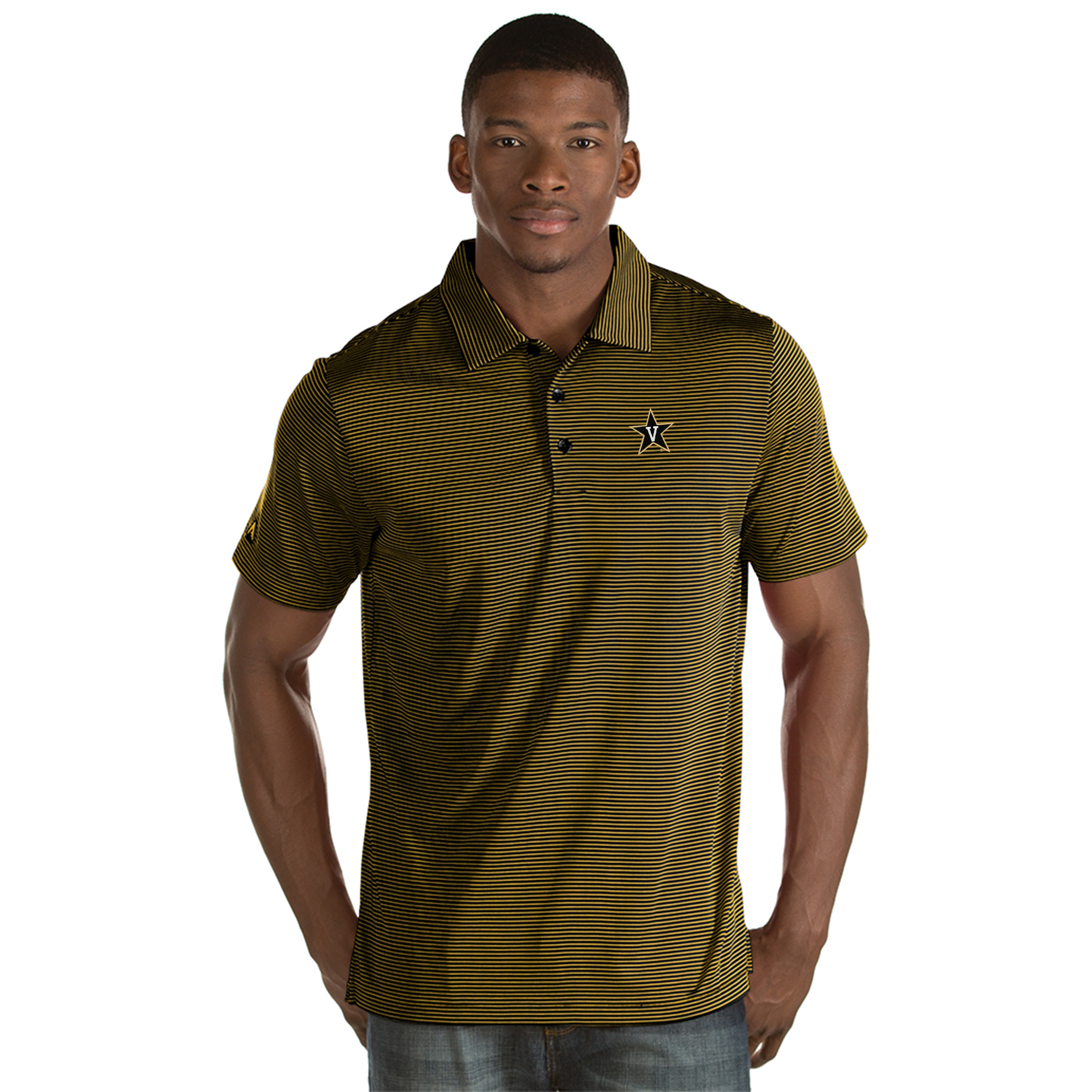 52e959241f Vanderbilt University Men's Quest Polo Shirt (Medium)