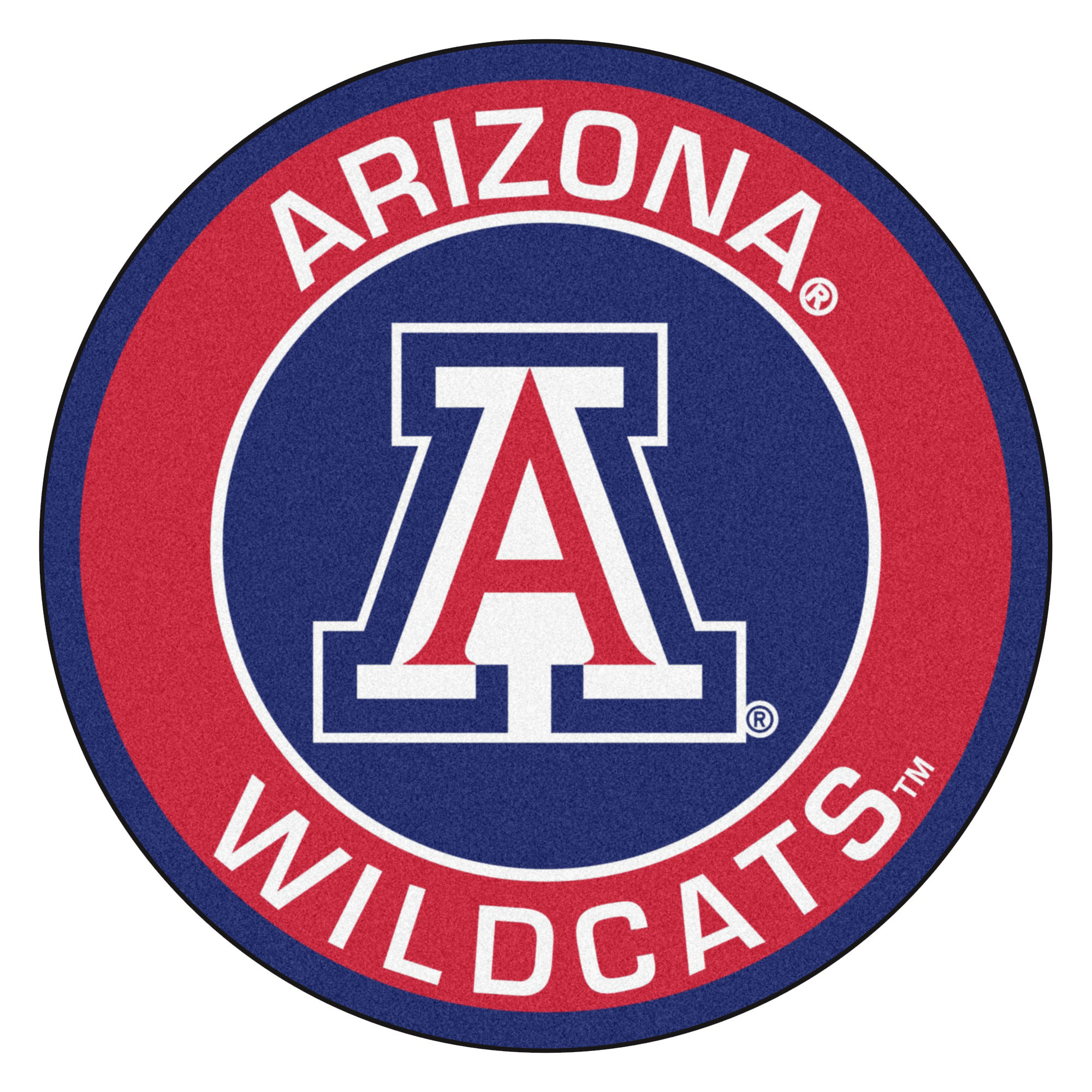 University Of Arizona Roundel Mat 646648045067 Ebay